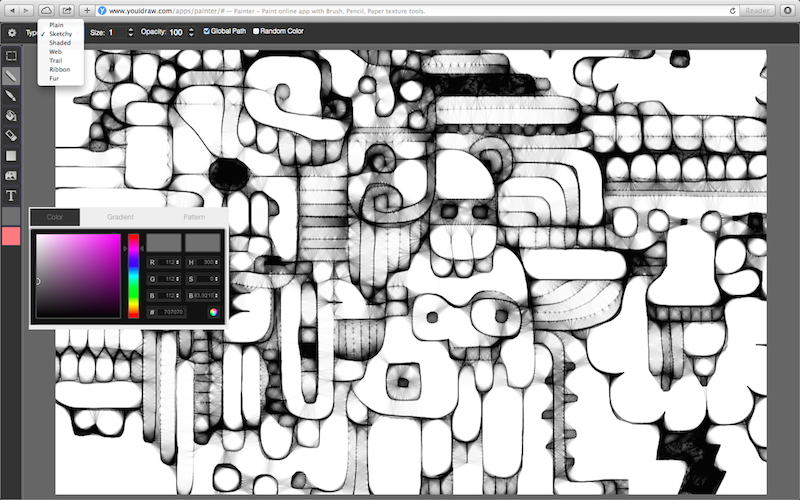 Online Paint Tool, Painting Tools, YouiDraw Painter