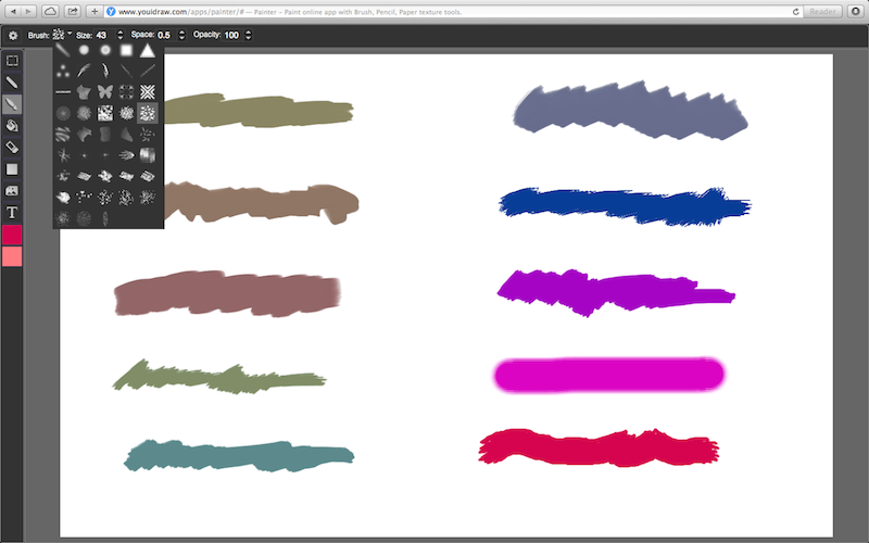 how to change the opacity in paint tool sai